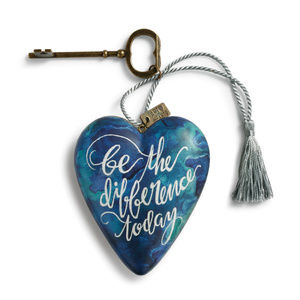 Be the Difference Today Art Heart 1003480194 NEW
